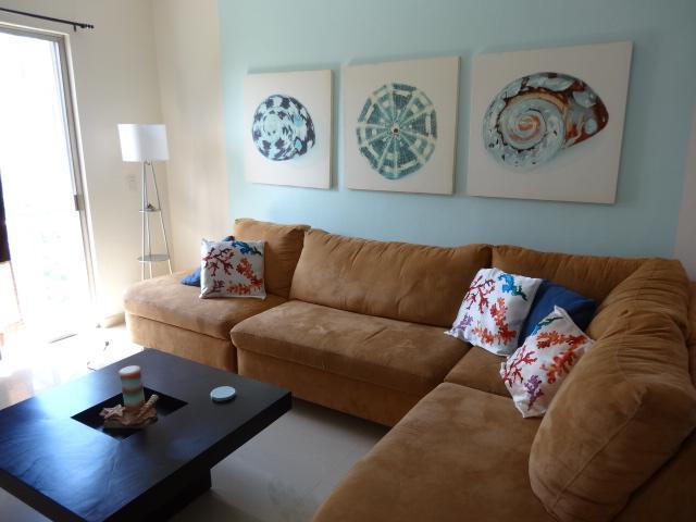 """living room - """"NEW """" - 2 BR 2nd floor """"SEA GEM""""  at Coco Beach - Playa del Carmen - rentals"""