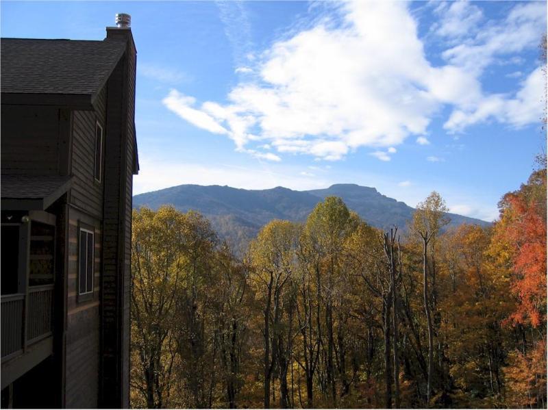 Grandfather Mountain View - Shadow Mountain - hot tub, mountain view - Banner Elk - rentals