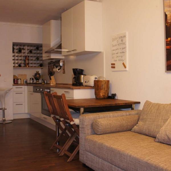 CR100bOFF - Moderne 2-Zimmer-Wohnung mit Skylineblick / 17min bis zur Messe - Image 1 - Offenbach - rentals