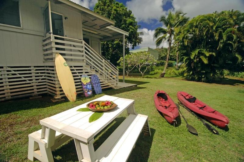 Tropical Hawaiian Yard - Large Hawaiian House - Mango Hale - Lihue - rentals