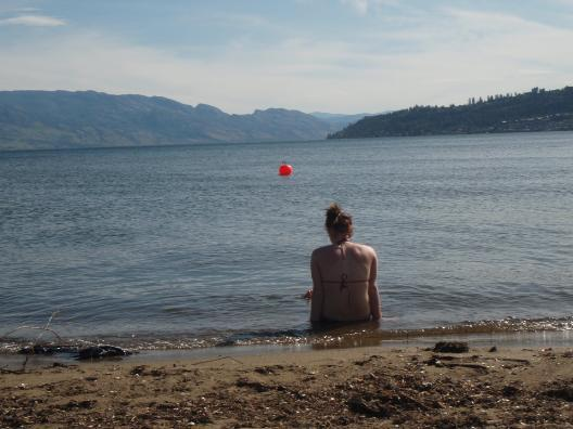 our beach - At The Beach Bed and Breakfast Kelown - Kelowna - rentals