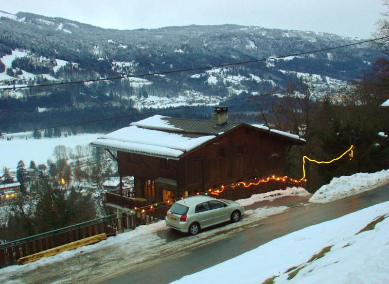 Chalet in early ski season - Chalet in Alps,balconies all round and great views - Samoëns - rentals