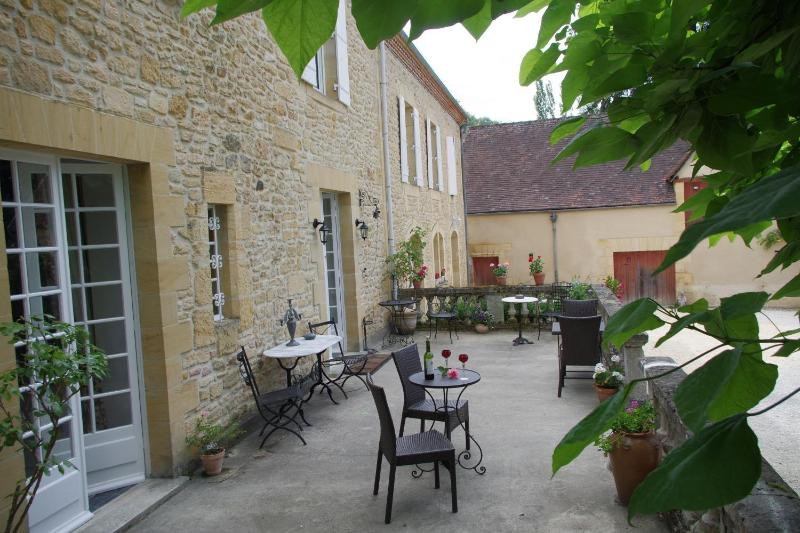 Relax on the terrace - Manoir Petit Meysset - Superb Suites or SC Studios - Sarlat-la-Canéda - rentals