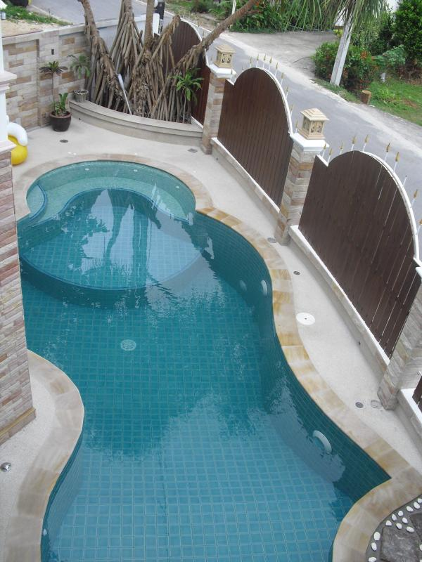 balcony view on POOL - Three-Bedroom Private Pool Villa - Phuket - rentals