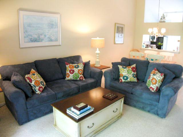 Living Area - Ocean Edge Affordable with A/C - EA0485 - Brewster - rentals