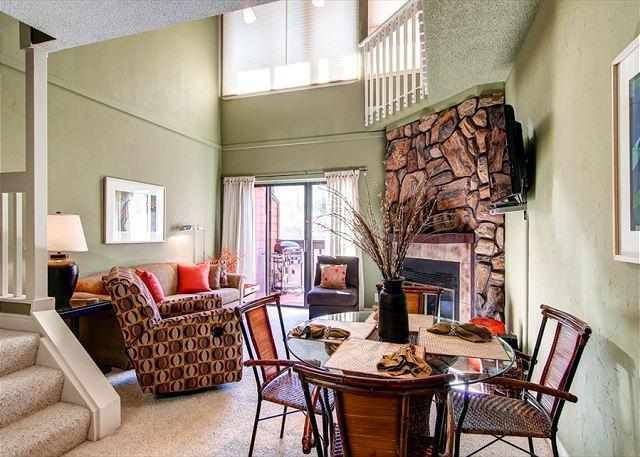 Mountainside Condo Living Room Frisco Lodging Vacation Condo Ren - Mountainside 126G Condo Frisco Colorado Vacation Rentals - Frisco - rentals