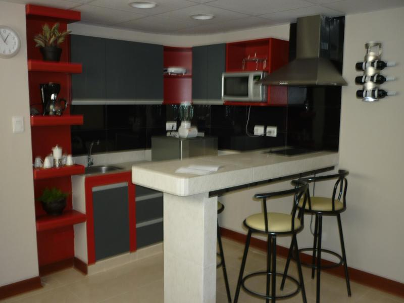 Center of Miraflores completly furnished apartment - Image 1 - Lima - rentals