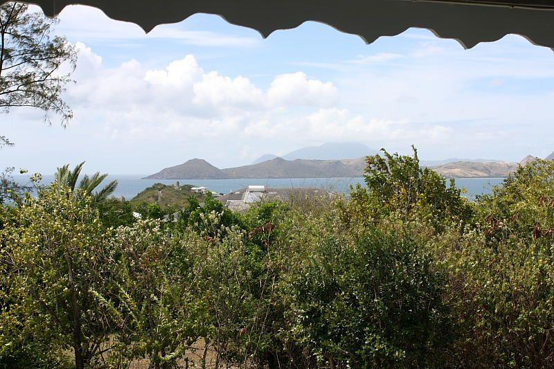 View to St Kitts from the Verandah - Palm Villa - Nevis - Nevis - rentals