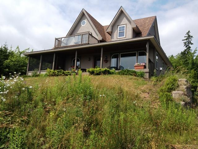 High on a hill overlooking the lake - Cameron House - Baddeck - rentals