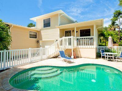 Pool - Hideaway - 304 74th St - Holmes Beach - rentals