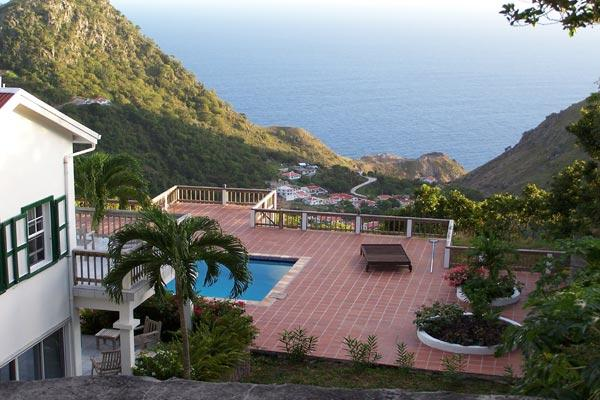 Atop exclusive Troy Hill amid unspoiled tropical rainforests of Saba. WMB CAR - Image 1 - Saba - rentals