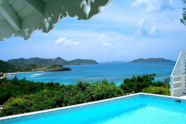 Caribbean style villa with spectacular ocean views WV MAG - Image 1 - Lorient - rentals