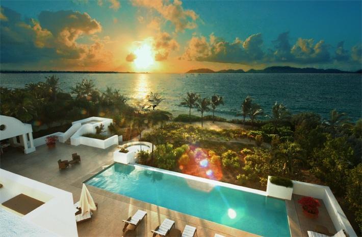 New Beachfront Villa on Sandy Beach -Villa Arushi - Image 1 - West End - rentals