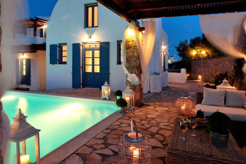 Greek Island Villa on Santorini  - Akrotiri Residence - Image 1 - Akrotiri - rentals