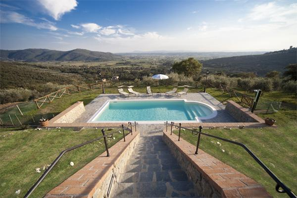 Charming Cottage for Two Couples or Small Family Near Cortona - Il Pavone - Image 1 - Cortona - rentals