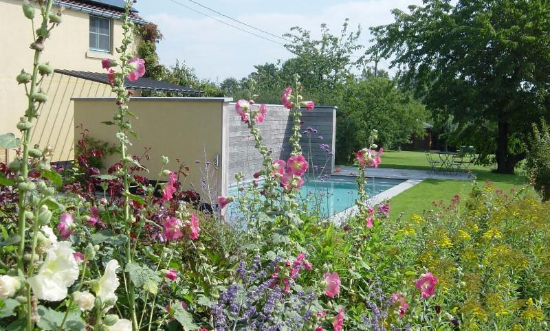 NOUS HÖTES, garden and swimming pool - NOUS HOTES charming cottage, pool, panoramic view - Bonlez - rentals