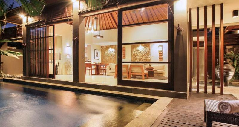 Villa Ria Bali, dive into your own private pool or hang out in the opulent living space. - Villa Ria Seminyak - All Inclusive Private Oasis - Seminyak - rentals