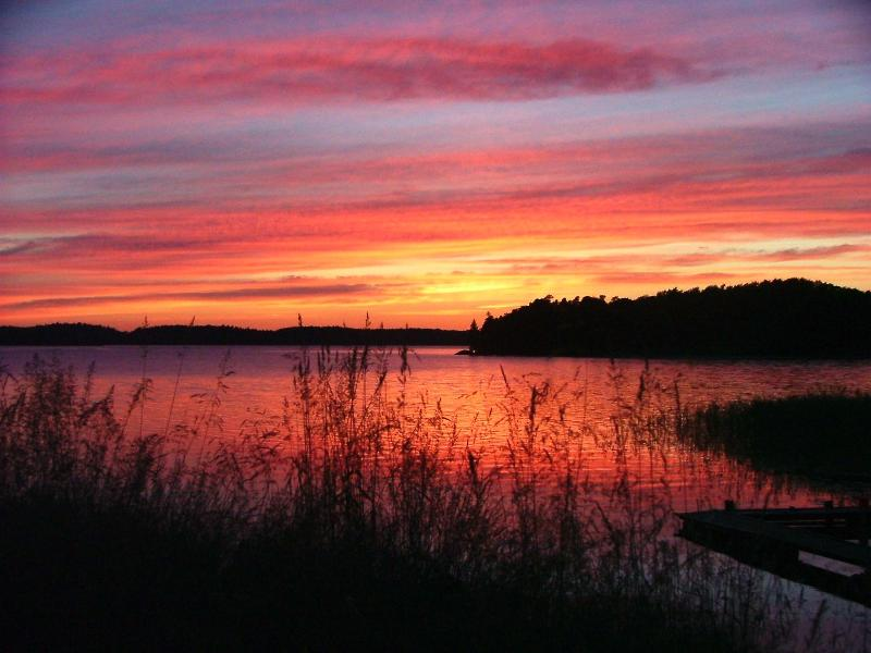 Amazing sun sets - Private property by the lake near Drottningholm - Stockholm - rentals