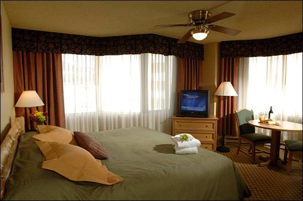 King Suite Includes a Sleeper Sofa, Kitchenette, and King Bed (Representative Unit) - King Suite at The Grand Lodge - Spacious and Stylish Accommodations (1115) - Crested Butte - rentals
