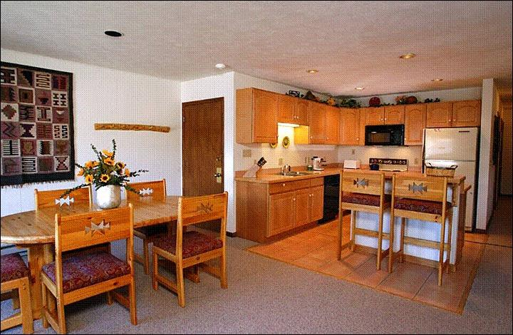 Fully Equipped Kitchen (Representative Unit) - Open and Spacious Condo - Wonderful Year-Round Getaway (1149) - Crested Butte - rentals
