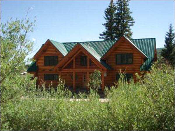 Beautiful Home in Crested Butte South - Riverside Log Cabin Home - Located on Three Acres of Land (1193) - Crested Butte - rentals