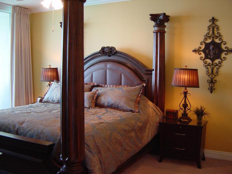 Oceanfront Master Suite - Palazzo - Oceanfront Luxury Condo, near Pier Park - Panama City Beach - rentals