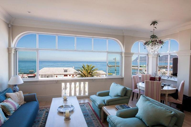 The fabulous view from the sitting room - Kalk Bay Holiday Apartment - Kalk Bay - rentals