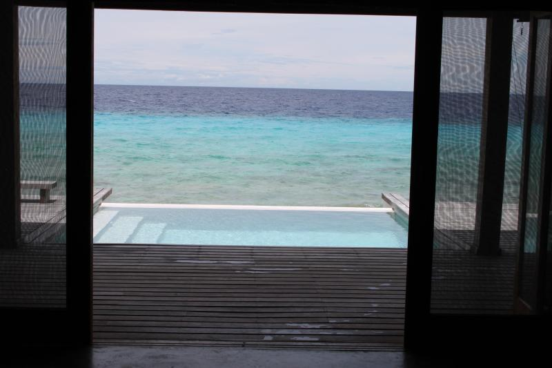 view from living room - Eco Beach House On The Beach At Dive Spots Sleeps6 - Kralendijk - rentals