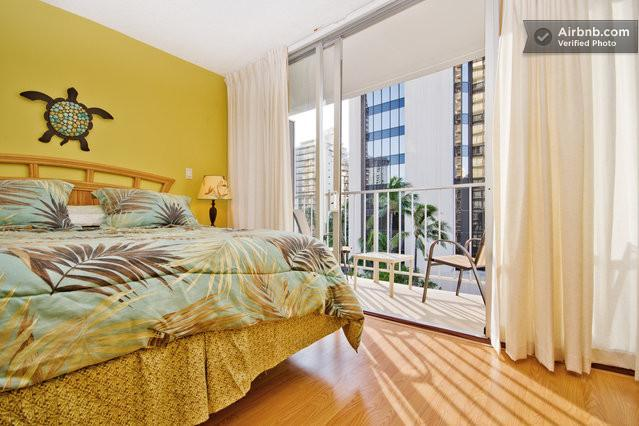 NEW! queen-sized bed with comfortable SERTA mattress ! - TROPICAL STUDIOS  IN WAIKIKI - FREE PARKING & WIFI - Honolulu - rentals