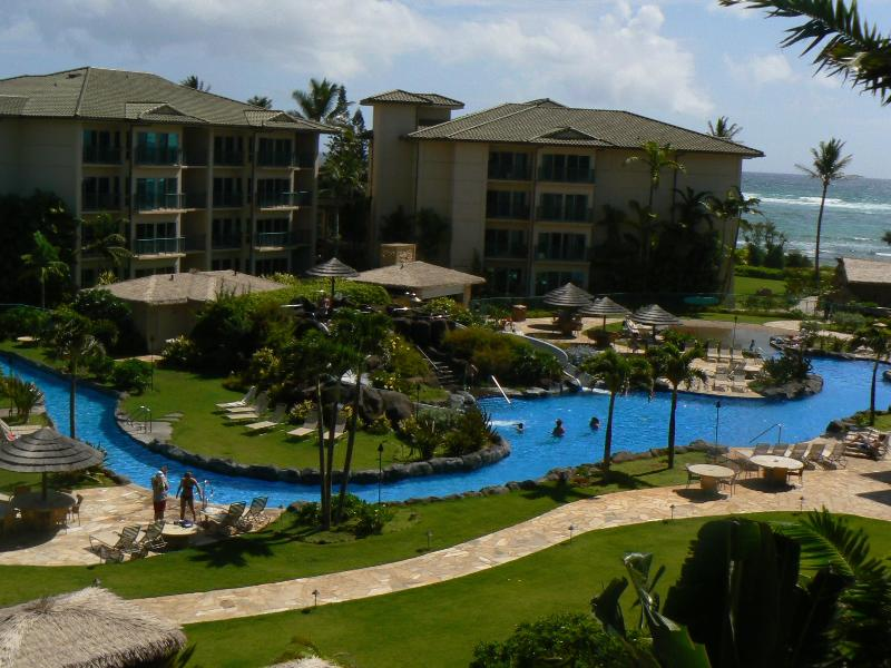 The lazy river pool! - Luxurious Waipouli Beach Resort Getaway! - Kapaa - rentals