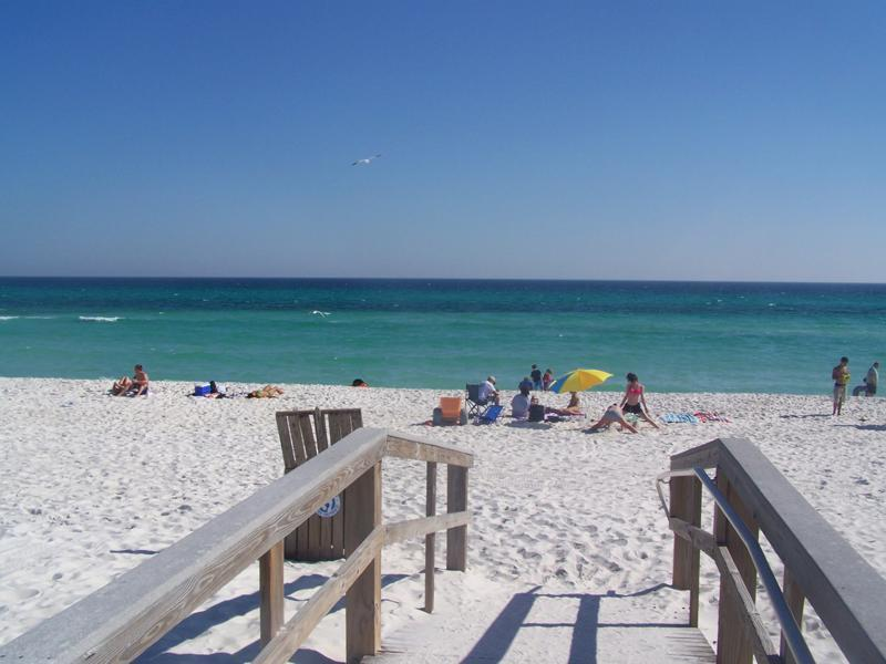 Gulf Beach from Boardwalk at end our Street -You have arrived!! - Sat Aug 15 - Sat Aug 22 or Sun 23 Avail $290 Nt!!! - Pensacola Beach - rentals
