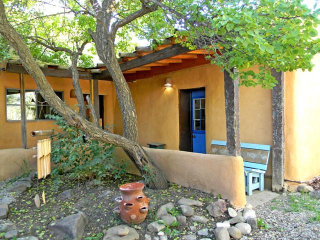 A yard of 7 apricot trees - ready for picking late July early August - Alfred's Cabin / Casita - Taos - rentals