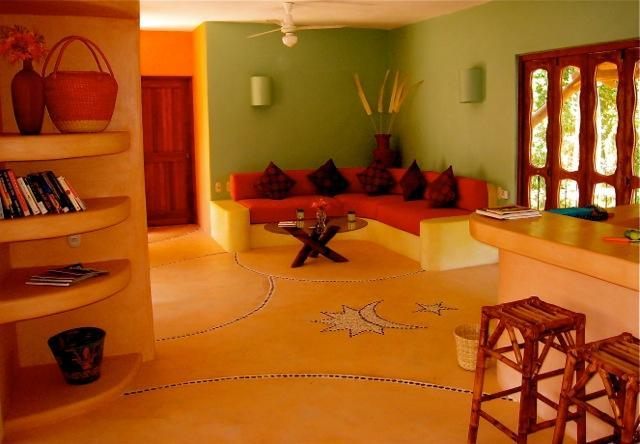 Living area - Luxurious 1BR - Condo close to Beaches & Downtown - Zihuatanejo - rentals