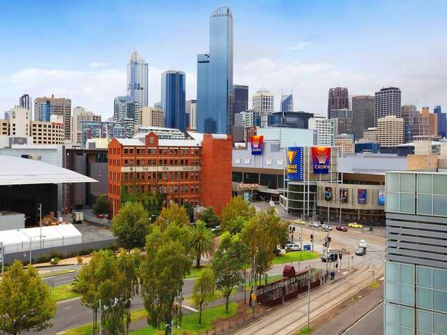 Southbank Serviced Apartment view to city - StayCentral CSide CBD pool gym tennis Casino shops - Melbourne - rentals