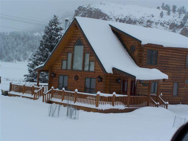 Winter Wonderland - Riverfront Log Cabin 17 miles to Wolf Creek Ski - South Fork - rentals