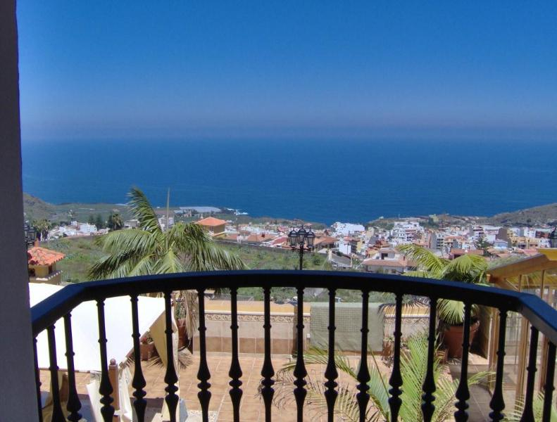 Sea view from balcony - Panoramic sea view apartment Tenerife - Icod de los Vinos - rentals