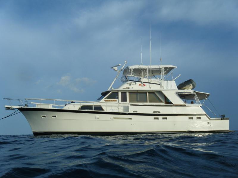 Full view of yacht