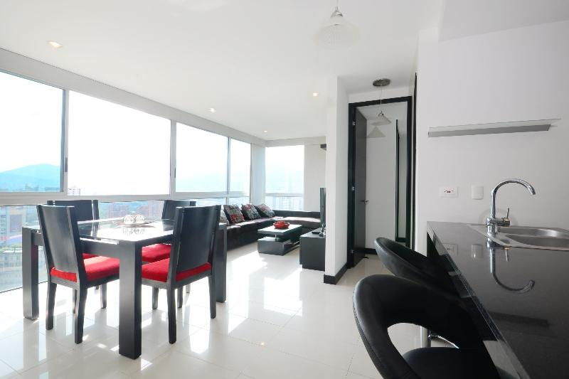 Modern Condo With Killer View - Image 1 - Medellin - rentals