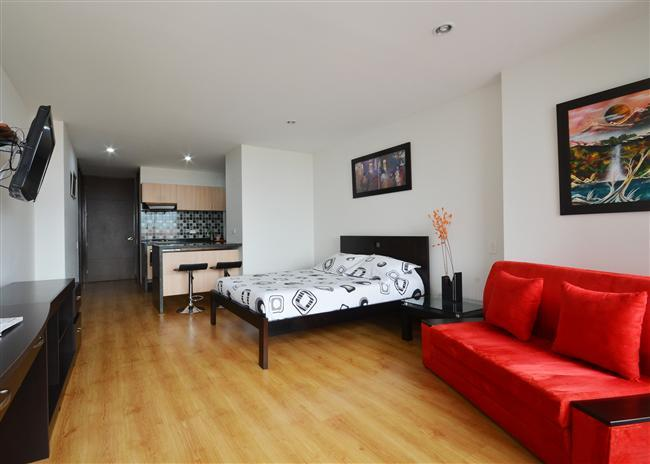 Comfortable Studio in A+ Location - Image 1 - Medellin - rentals