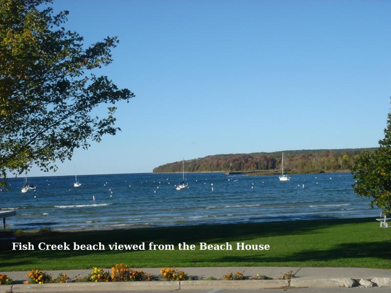Water View - The BEACH HOUSE - Image 1 - Fish Creek - rentals