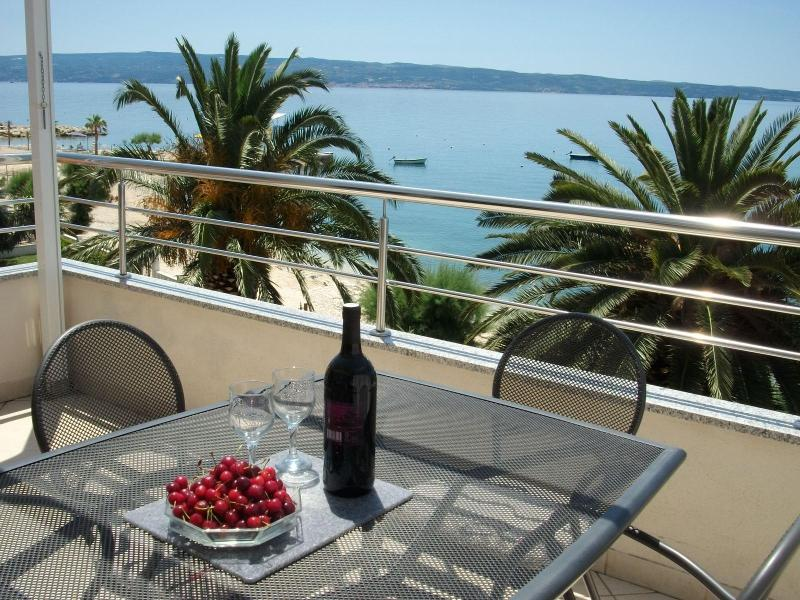 View from your terrace - Magical Sunset Apartment - Podstrana - rentals