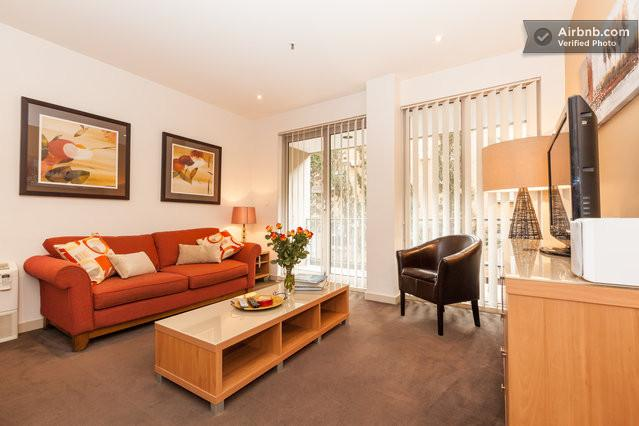 St Kilda Serviced Apartment living area - StayCentral Catani 1 St Kilda Serviced Apartment - St Kilda - rentals