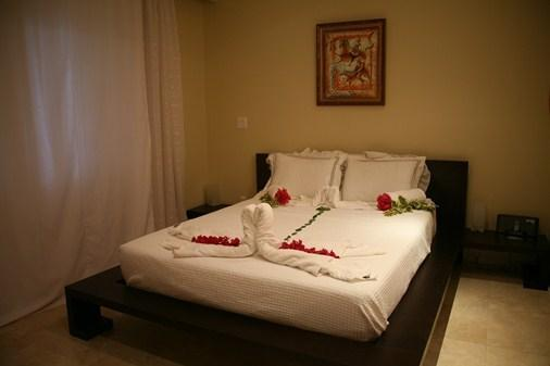 Queen bed - Charming studio condo at The Atrium Resort, Provo - Providenciales - rentals