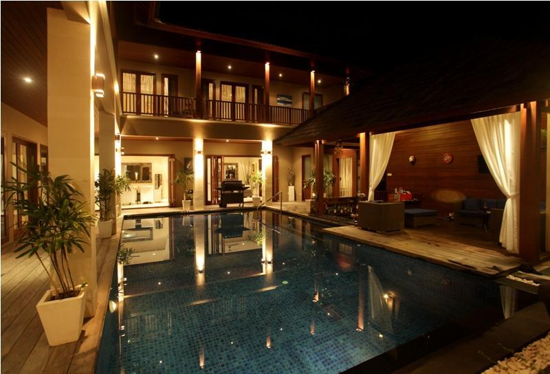 The Pool and Terrace - 6 Bdrms/9 beds SEMINYAK, Great Location And Value! - Seminyak - rentals
