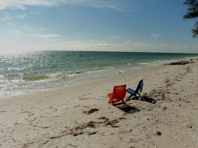 Private beach on Gulf Coast - Manasota Key 2B Condo Boat Dock & Private Bch - Englewood - rentals