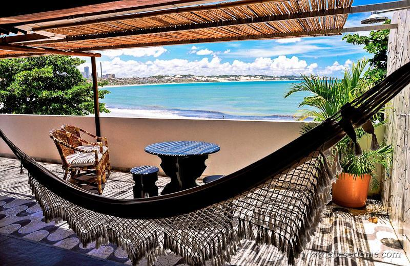 Fantastic Big Balcony Apartment 4A - 2 or 3 Bedroom Condo by the sea Ponta Negra Beach - Natal - rentals
