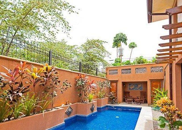 Beautiful outdoor living space and pool - Lavish 3 bedroom villa in Playa Langosta - Tamarindo - rentals