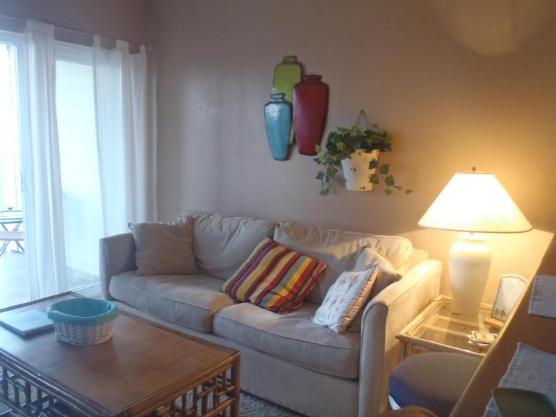 Living Area - Grand Caribbean 3rd floor corner unit - Orange Beach - rentals