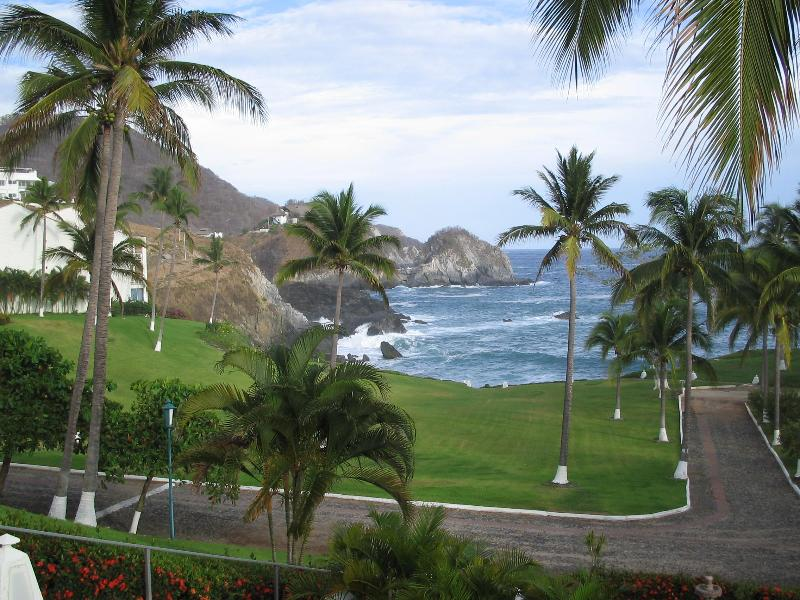 Ocean view from grounds - Spectacular Oceanfront Penthouse - Vida del Mar - Manzanillo - rentals