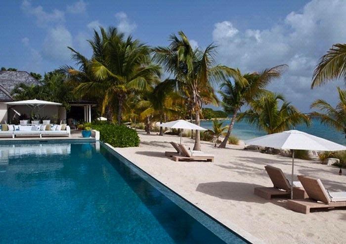 Luxury 5 bedroom Jumby Bay Resort villa. Dramatic views of the beach and ocean! - Image 1 - Antigua and Barbuda - rentals